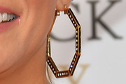 Martina McBride Gold Hoops