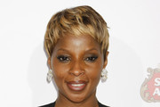 Mary J. Blige Short Straight Cut