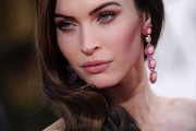 Megan Fox Long Side Part
