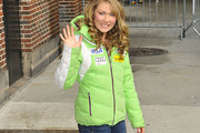 Mikaela Shiffrin Down Jacket