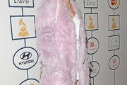 Miley Cyrus Fur Coat
