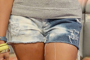 Miss Mykie Denim Shorts