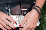 Michelle Smith Leather Clutch