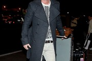 Luke Evans Wool Coat