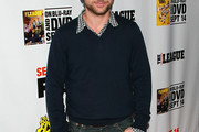 Charlie Day V-neck Sweater