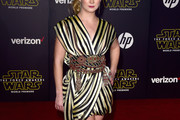 Billie Lourd Wrap Dress
