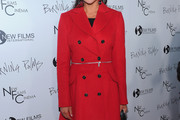 Nadia Bjorlin Wool Coat