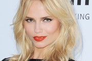 Natasha Poly Long Wavy Cut with Bangs