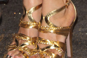 Paola Barale Strappy Sandals