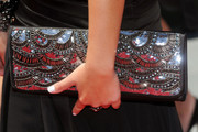 Nicole Anderson Sequined Clutch