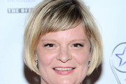 Martha Plimpton Short Cut With Bangs