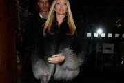Caprice Bourret Fur Coat