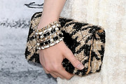 Ellie Bamber Printed Clutch
