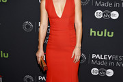 Claire Danes Form-Fitting Dress