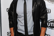 Wilson Cruz Narrow Solid Tie