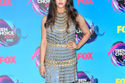 Katherine Langford Fringed Dress