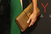 Joyce Zybelberg Varvatos Leather Clutch