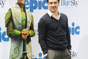 Colin Farrell V-neck Sweater
