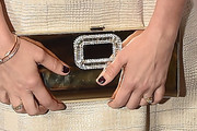 Jenna Fischer Buckled Clutch