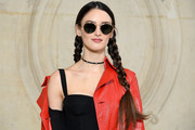 Charlotte Le Bon Long Braided Hairstyle