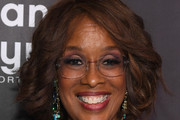 Gayle King Curled Out Bob