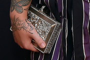 Elle King Metallic Clutch