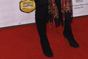 Jane Seymour Over the Knee Boots