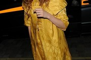 Lily Cole Evening Coat