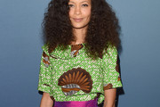 Thandie Newton Print Blouse