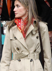 Princess Letizia Trenchcoat