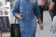 Busy Philipps Leather Shoulder Bag