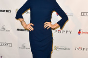 Kelly Rutherford Midi Dress