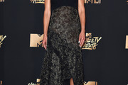 Jordana Brewster Fishtail Dress
