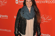 Holly Marie Combs Leather Jacket