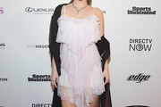 Barbara Palvin Baby Doll Dress