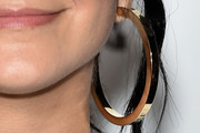 Camila Mendes Gold Hoops