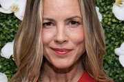 Maria Bello Medium Wavy Cut