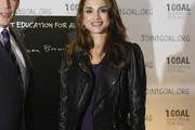 Queen Rania Leather Jacket