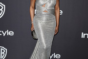 Laverne Cox Cutout Dress