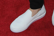 Lily Collins Slip-Ons
