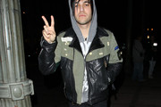 Pete Wentz Leather Jacket