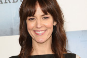 Rosemarie Dewitt Medium Wavy Cut with Bangs