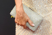 Jane Seymour Metallic Clutch