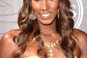 Lisa Leslie Long Wavy Cut