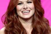 Debra Messing Long Wavy Cut