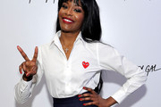 Azealia Banks Button Down Shirt