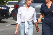 Ashley Greene Button Down Shirt