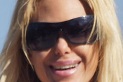 Shauna Sand Designer Shield Sunglasses