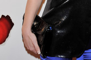 Soraya Patent Leather Clutch