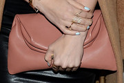 Hilary Duff Leather Clutch